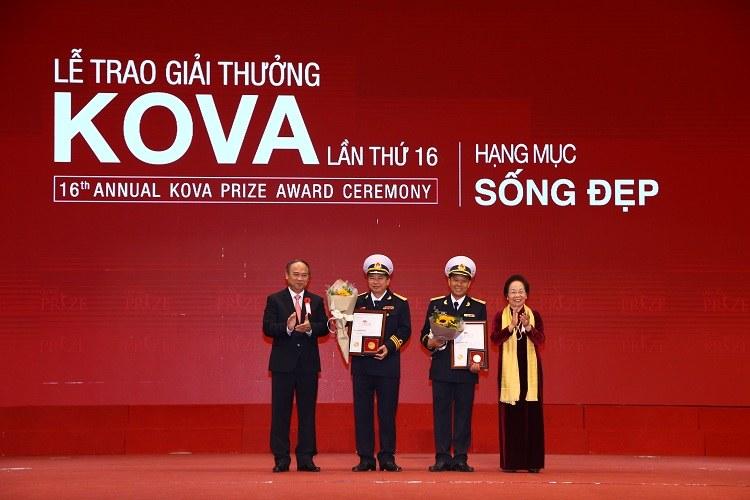 Lễ trao giải thưởng KOVA lần thứ 16 diễn ra tại Hà Nội