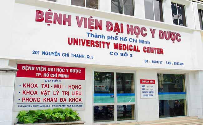 Bệnh viện Đại học Y dược TP. Hồ Chí Minh khám bệnh dạ dày uy tín