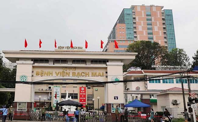 Bệnh viện Bạch Mai là địa chỉ khám đau dạ dày uy tín