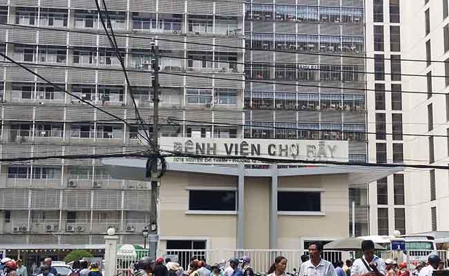Bệnh viện Chợ Rẫy được nhiều người chọn khi khám bệnh dạ dày
