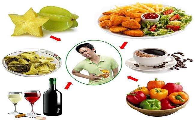 Người bệnh đau dạ dày nên lưu ý khi ăn uống