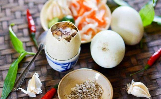 Giá trị dinh dưỡng từ trứng vịt lộn cho sức khỏe