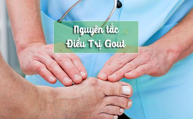 Nguyên tác chẩn đoán và điều trị gout