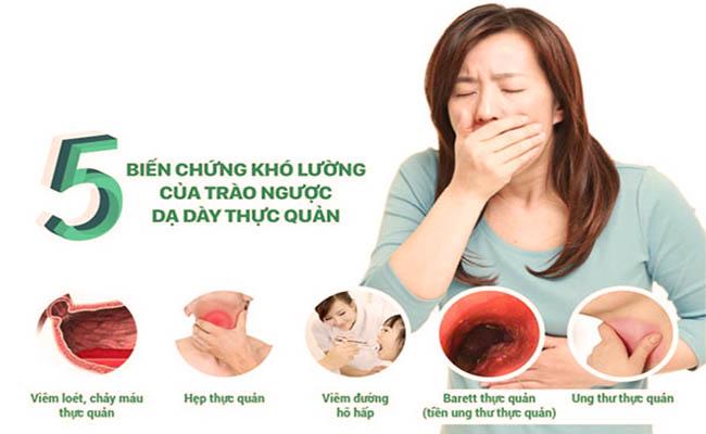 Đau dạ dày khó thở có thể gây nên biến chứng nguy hiểm
