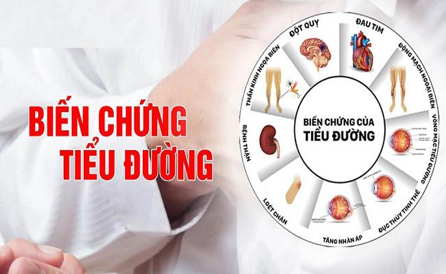 Bệnh tiểu đường có thể gây nên nhiều biến chứng