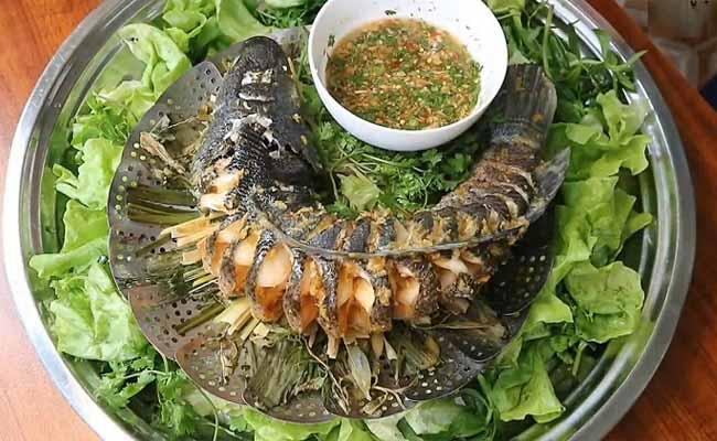 Cá hấp là món ăn ngon được gợi ý cho người bệnh gút