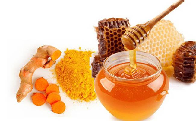 Nghệ và mật ong giúp giảm đau hữu hiệu