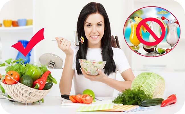Bệnh tiểu đường nên chú ý chế độ ăn uống