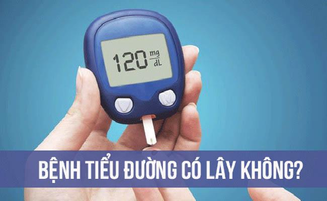 Bệnh tiểu đường có lây không?