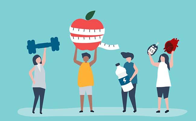 Cần kết hợp chế đợ dinh dưỡng hợp lý và thói quen thể dục