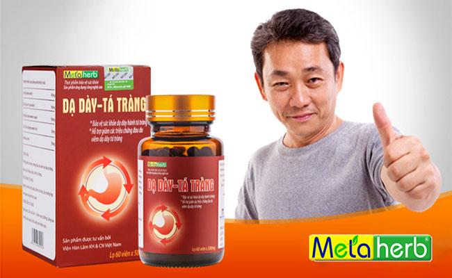 Metaherb - Hỗ trợ điều trị dứt điểm đau dạ dày