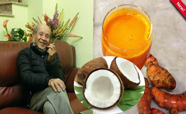 Diễn viên Văn Toản chữa đau dạ dày thành công nhờ nghệ và dừa tươi