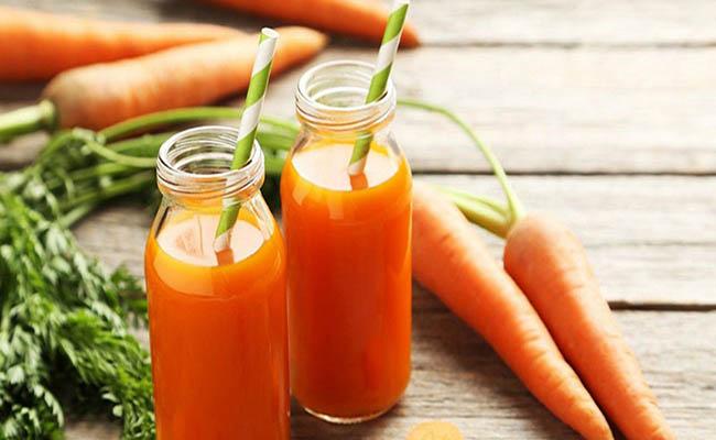 Nước ép cà rốt thơm ngon