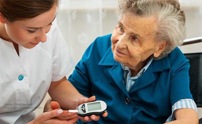 Tiểu đường biến chứng vào phổi thường hay gặp ở người cao tuổi