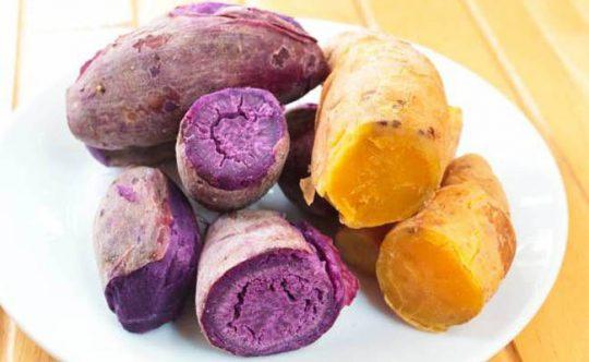 Người bệnh dạ dày nên ăn khoai lang luộc