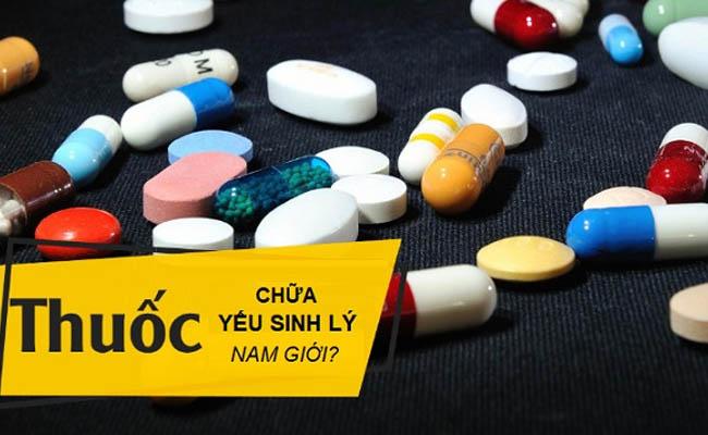Dùng thuốc tây điều trị yếu sinh lý là phương pháp phổ biến hiện nay