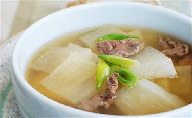 Củ cải trắng có thể chế biến thành nhiều món ăn ngon