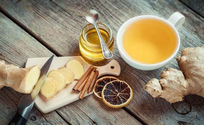 Hết ợ chua, ợ hơi, ợ nóng bằng trà gừng mật ong