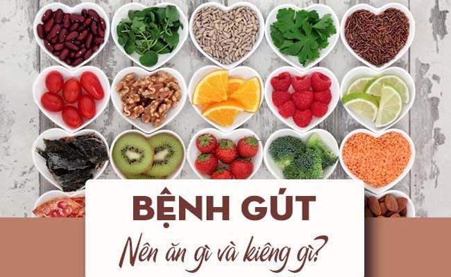Người bệnh gout cần chú ý chế độ ăn uống khoa học