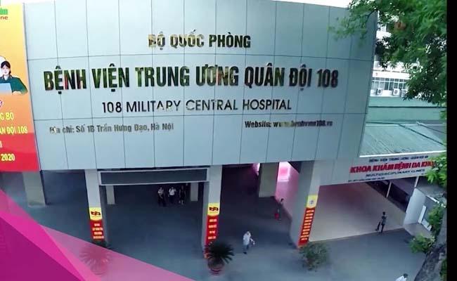 Bệnh viện 108 là địa chỉ khám bệnh gout uy tín