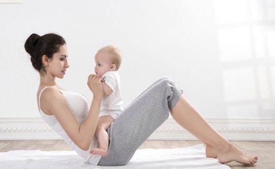 Lưu ý khi giảm béo sau sinh