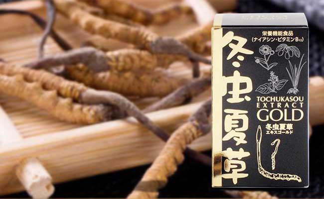Sản phẩm ĐTHT Tochukasou Extract Gold của Nhật Bản