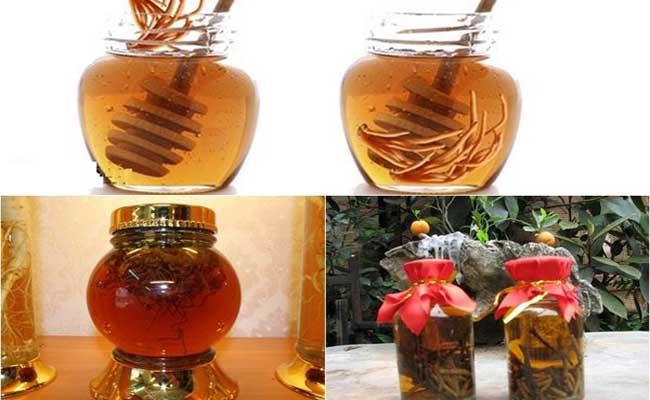 Sử dụng ĐTHT ngâm mật ong là cách phổ biến