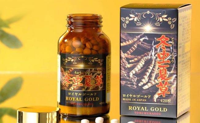 Đông trùng hạ thảo Nhật Bản Royal Gold khá phổ biến hiện nay