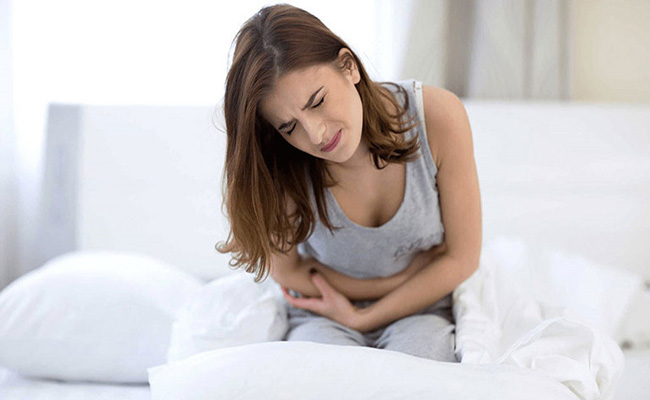 Giảm đau bụng bằng cà dái dê tím