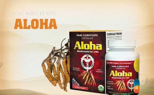 Đông trùng hạ thảo Aloha đến từ Mỹ được nhiều người yêu thích