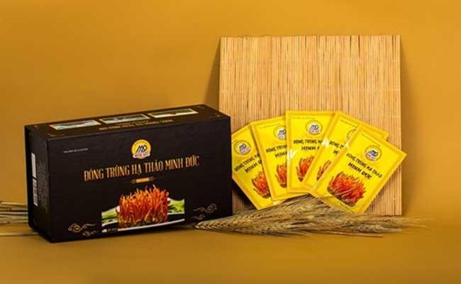 Đông trùng hạ thảo Minh Đức là thương hiệu nổi tiếng trên thị trường