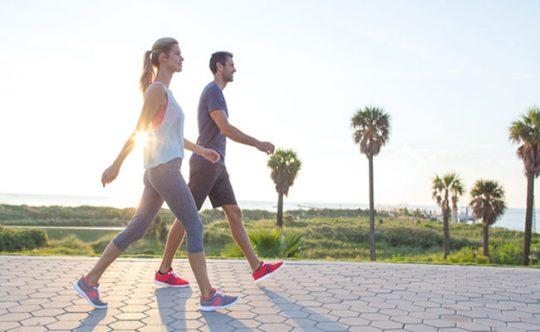 Đi bộ giúp cải thiện bệnh hiệu quả