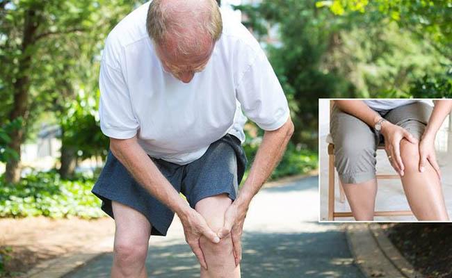 Hẹp khe gối thường gặp ở người cao tuổi