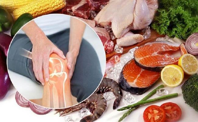 Người bệnh nên chú ý chế độ ăn uống tốt cho xương khớp